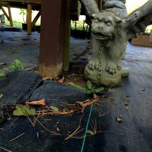 fall statue