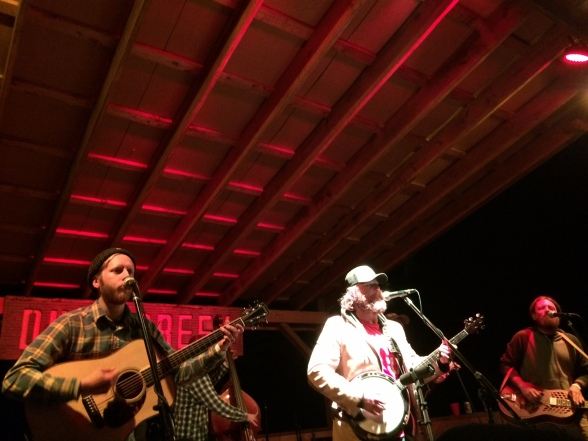 The Hocking River String Band at the Duck Creek Fall Campout 2014!
